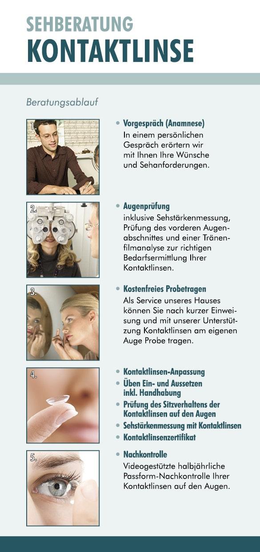 Kostenlose Sehberatung im Optikhaus Krefeld