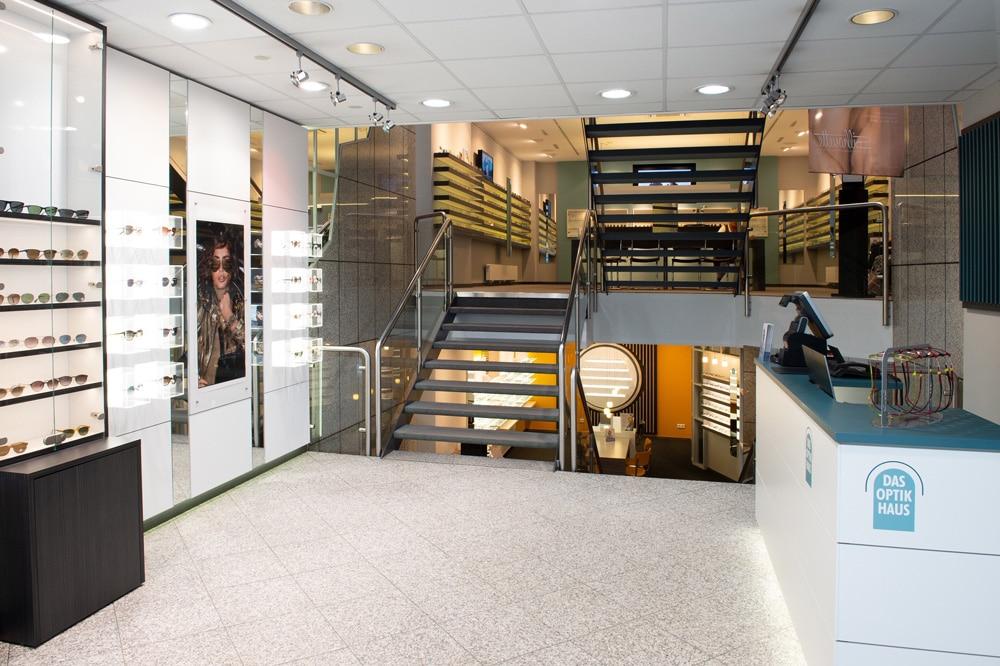 Eingangsbereich Optikhaus