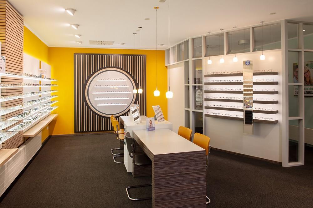 Beratungsraum im Optikhaus Krefeld